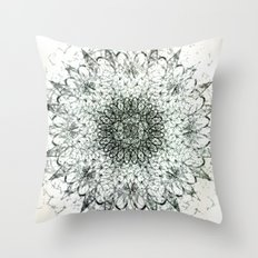 Aerial Side Effects Throw Pillow
