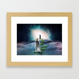Journey to Happiness Framed Art Print