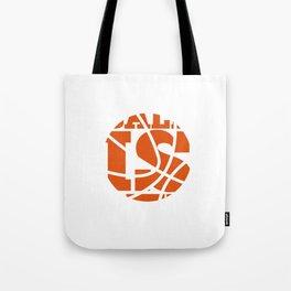 Ball is Life Graphic Basketball Sporting T-shirt Tote Bag