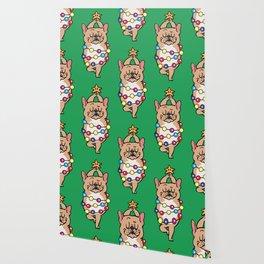 French Bulldog Merry Christmas Wallpaper