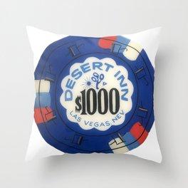 Desert Inn - Casino Chip Series Throw Pillow