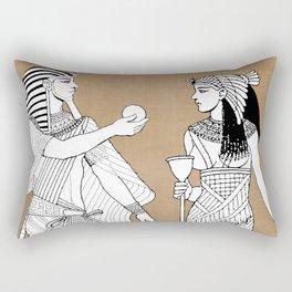King tut Rectangular Pillow
