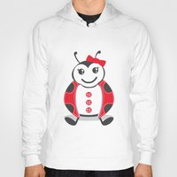 ladybug Hoodies featuring LadyBug by Alìta Design