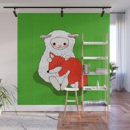 Cuddly Nap Wall Mural