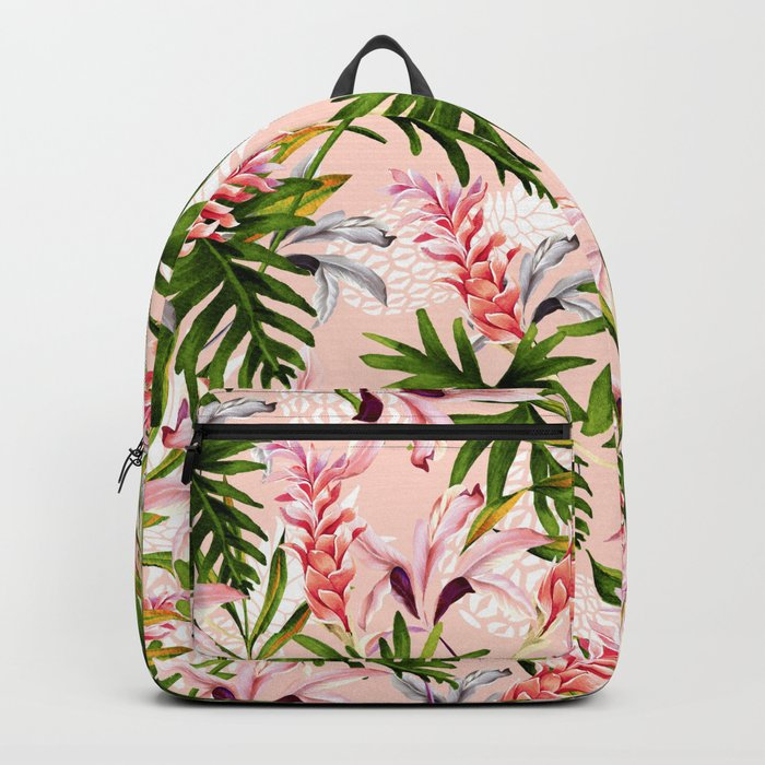 Tropical nature pattern Backpack
