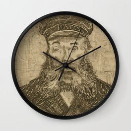 Portrait of Joseph Roulin 2 Wall Clock