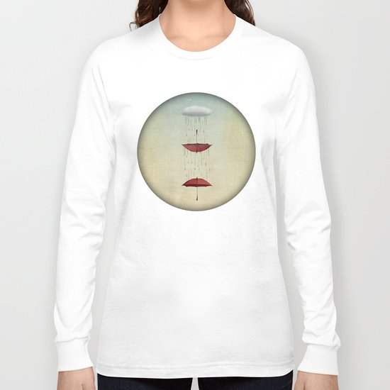 the umbrella runneth over and over Long Sleeve T-shirt