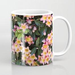 Tangerine Beauty Cross Vine Flowers Coffee Mug
