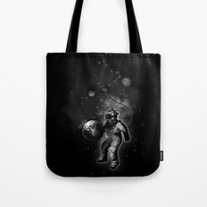 Deep Sea Space Diver Tote Bag