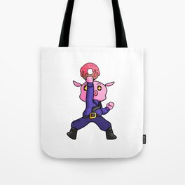 Police security Donut children Pig Gift Tote Bag