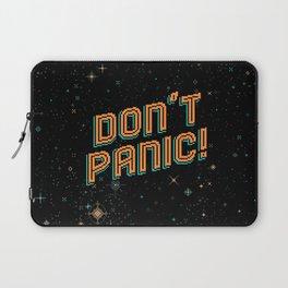 Don't Panic! Pixel Art Laptop Sleeve