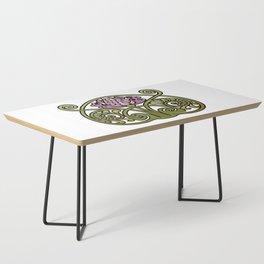 Nouveau Thistle Coffee Table