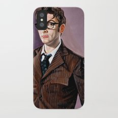 The Tenth Doctor iPhone X Slim Case