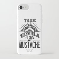 tequila iPhone & iPod Cases featuring Tequila by MrWhite