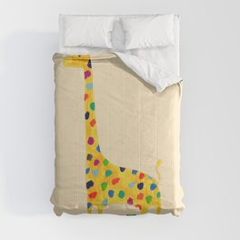 Paint by number giraffe Comforters