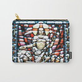 Pillowed Stain Carry-All Pouch