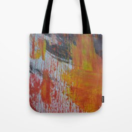 Abstract Paint Swipes Tote Bag