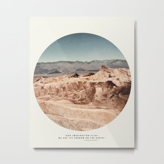 Death Valley Imaginaries Metal Print