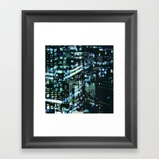 City Never Sleeps 2 Framed Art Print