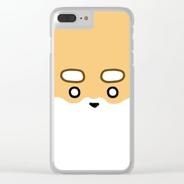 Mochi Up Close & Personal Clear iPhone Case