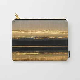 Sunsetting on a golden Pond Carry-All Pouch
