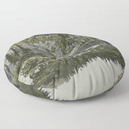 Mount Revelstoke National Park Floor Pillow