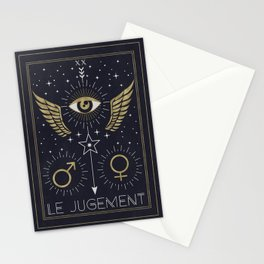 Le Jugement or The Judgement Tarot Stationery Cards