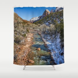 Virgin_River 4764 - Canyon Junction Zion Shower Curtain