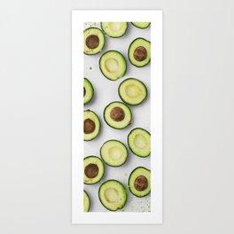 Avocado Oil Painting Art Print