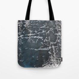 Dark gray marble watercolor design Tote Bag