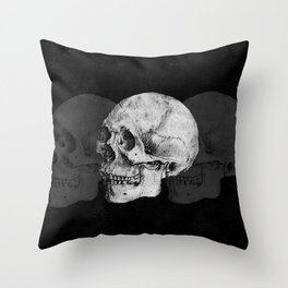 We Left As Skeletons  Throw Pillow