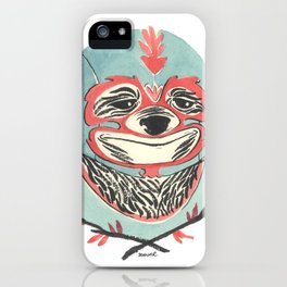 LuchaSloth iPhone Case
