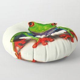 Mr. Ribbit Floor Pillow
