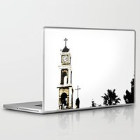 israel Laptop & iPad Skins featuring St. Peter's Church, Jaffa, Israel by Philippe Gerber