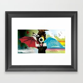 The Pursuit of Salvation Framed Art Print