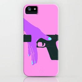 STOP SHOOTING iPhone Case