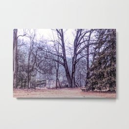 Landscape at Old Kennett Meetinghouse Metal Print