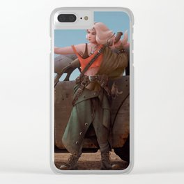 Fury Road Girl Clear iPhone Case