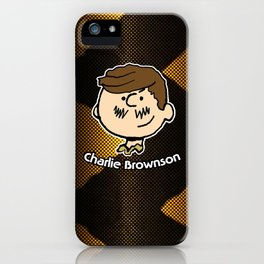 Charlie Brownson iPhone Case