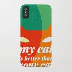 mittens Slim Case iPhone X
