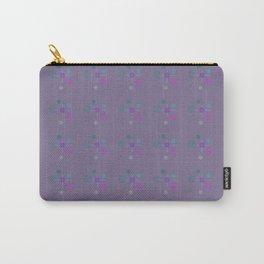 purple aqua pink bubbles Carry-All Pouch