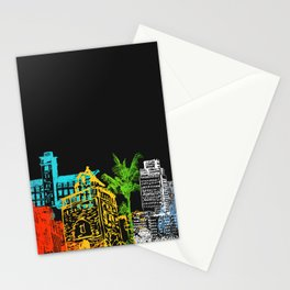 THE VIEW OVA' THERE Stationery Cards