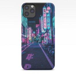 A Neon Wonderland called Tokyo iPhone Case