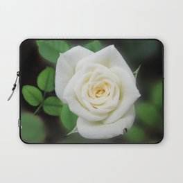 Shabby chic pink rose flower Laptop Sleeve