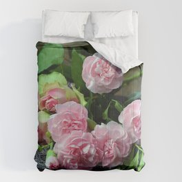 Carnation Bouquet Comforters