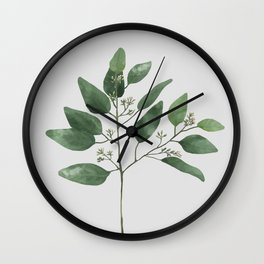 Branch 2 Wall Clock