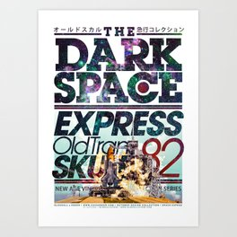 The Dark Space Art Print