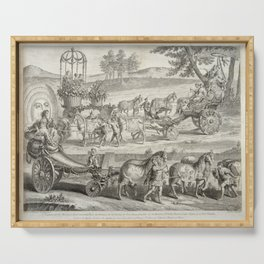 A. J. Defehrt - Chariot of Apollo (1764) Serving Tray