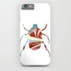 Painted Beetles Slim Case iPhone 6s