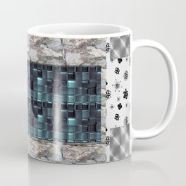 textures for the interior grey Coffee Mug